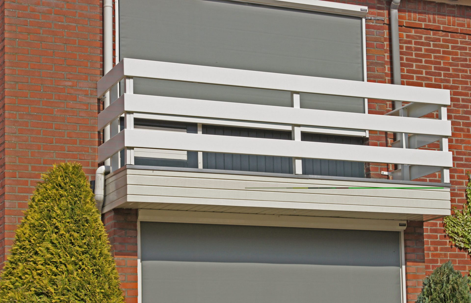 Balkonhekwerk modern