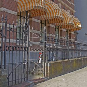restauratie klassieke poort