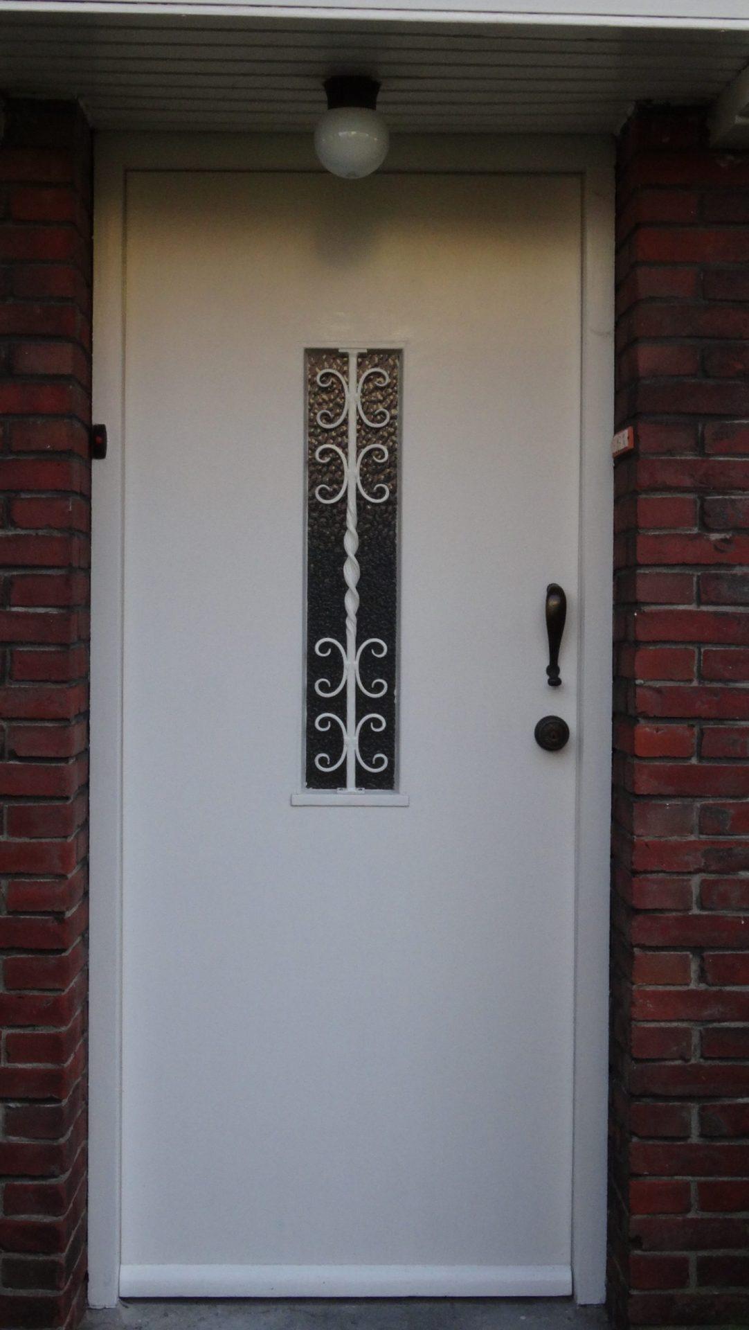 Raambeveiliging deur klassiek