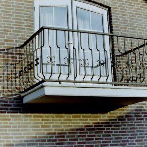 Balkonhekwerk sierhekwerk